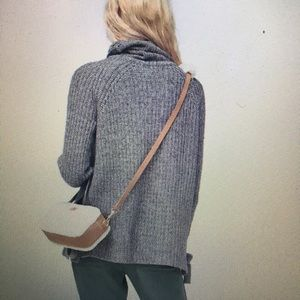 UGG Ceanne Turtleneck Sweater, Grey, Size Small